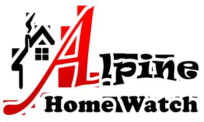 Alpine Home Watch logo